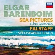 CD image for ELGAR / SEA PICTURES, FALSTAFF - (DANIEL BARENBOIM, ELINA GARANCA, STAATSKAPELLE BERLIN)