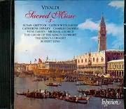 CD image VIVALDI / SACRED MUSIC VOL.3 (RV.595 - 593 - 605 - 598 - 597) / KING