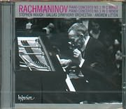 CD image RACHMANINOV / PIANO CONCERTO N 2 IN C MINOR - AND 3 IN D MINOR - STEPHEN HOUGH PIANO