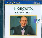 CD image VLADIMIR HOROWITZ PLAYS RACHMANINOFF / SONATA N 2 - MOMENT MUSICALE N 2 - PRELUDE N 5 - POLKA N 3