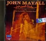 CD image JOHN MAYALL AND THE BLUESBREAKERS / PRIMAL SOLOS