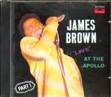 CD image JAMES BROWN / LIVE AT THE APOLLO PART 1