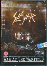 DVD image SLAYER / WAR AT THE WARFIELD - (DVD)