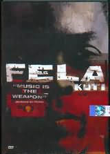 DVD image FELA KUTI / MUSIC IS THE WEAPON - (DVD)