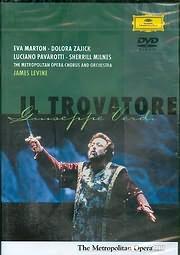 DVD image VERDI - IL TROVATORE - PAVAROTTI - MILNES - JAMES LEVINE - (DVD VIDEO)