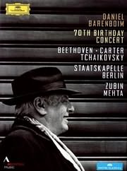 CD Image for DANIEL BARENBOIM - 70TH BIRTHDAY CONCERT - (DVD)