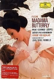 CD image for BLU - RAY / PUCCINI - MADAMA BUTTERFLY (MIRELA FRENI, PLACIDO DOMINGO, CHRISTA LUDWIG)