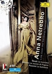 CD image for ANNA NETREBKO - LIVE FROM SALZBURG FESTIVAL - (DVD VIDEO)