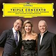 CD image for BLU - RAY / BEETHOVEN / TRIPLE CONCERTO (ANNE - SOPHIE MUTTER, YO - YO MA, DANIEL BARENBOIM)