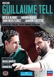CD image for ROSSINI / GUILLAUME TELL (JUAN DIEGO FLOREZ) (2DVD) - (DVD VIDEO)