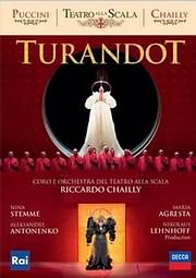 DVD image PUCCINI: TURANDOT (RICCARDO CHAILLY) - (DVD)