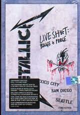 CD + DVD image METALLICA / LIVE SHIT - BINGE PURGE (3 CD + 2 DVD)