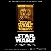 CD image for STAR WARS: A NEW HOPE (JOHN WILLIAMS) - (OST)