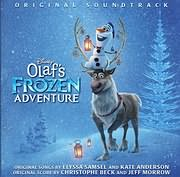 CD Image for OLAF S FROZEN ADVENTURE - (OST)