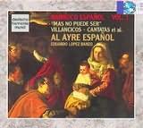 CD image BARROCO ESPANOL VOL.1 / MAS NO PUEDE SER / VILLANCIOS AND CANTATAS FROM SPAIN / AL AYRE ESPANOL