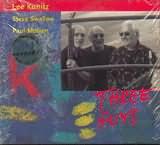 CD image LEE KONIK - STEVE SWALLOW - PAUL MOTIAN / THREE GUYS