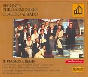 CD image ROSSINI / IL VIAGGIO A REIMS - BERLIN PHILHARMONIKER CLAUDIO ABBADO (2CD)