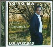 CD image YO YO MA / SIMBLY BAROQUE II - BACH AND BOCCHERINI - TON KOOPMAN - THE AMSTERDAM BAROQUE ORCHESTRA