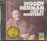 CD image WOODY HARMAN / LIVE AT MONTEREY