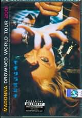 DVD image MADONNA / DROWNED WORLD TOUR 2001 - (DVD)