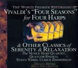CD image DEJAVU / VIVALDI / FOUR SEASONS FOR HARPS AND OTHER CLASSICS OF SERENITY AND RELAXATION (2CD)
