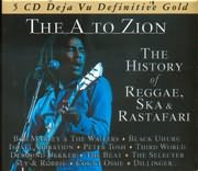 CD image DEJAVU 5 / THE A TO ZION / THE HISTORIE OF REGGAE SKA RASTAFARI (5CD)