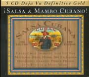 CD image DEJAVU 5 / SALSA AND MAMBO CUBANO (5CD)