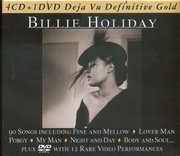 CD image DEJAVU 5 / BILLIE HOLIDAY (5CD)