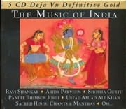CD image DEJAVU 5 / THE MUSIC OF INDIA (5CD)