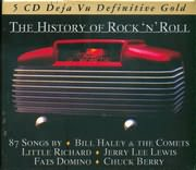 CD image DEJAVU 5 / THE HISTORY OF ROCK N ROLL 87 SONGS BY (5CD)