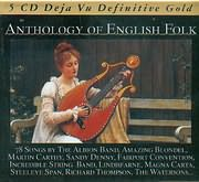 CD image DEJAVU / ANTHOLOGY OF ENGLISH FOLK - (5CD)