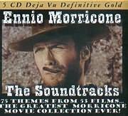 CD image DEJAVU 5 / ENNIO MORRICONE - THE SOUNDTRACKS 75 THEMES FROM 53 FILMS (5CD)