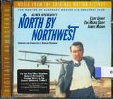 CD image NORTH BY NORTHWEST - BERNARD HERRMANN - (OST)