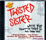 CD image for TWISTED SISTER / WE RE NOT GONNA TAKE IT AND OTHER HITS