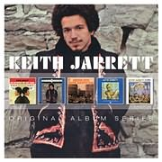 CD image KEITH JARRETT / ORIGINAL ALBUM SERIES (5CD)