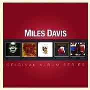 CD image MILES DAVIS / ORIGINAL ALBUM SERIES (5CD)