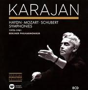CD image HERBERT VON KARAJAN / KARAJAN 2014: 1970 - 1981 - SYMPHONIES HAYDN - MOZART - SCHUBERT (8CD)