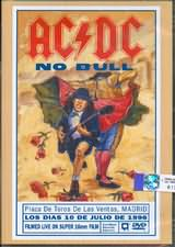 DVD image AC DC / NO BULL / PLAZA DE TOROS DE LAS VENTAS MADRID - (DVD)