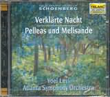 CD image SCHOENBERG / VERKLARTE NACHT OP.4 - PELLEAS UND MELISANDE OP.5 / LEVI
