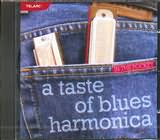 CD image A TASTE OF BLUES HARMONICA / VARIOUS