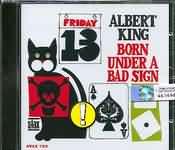 CD image ALBERT KING / BORN UNDER A BAD SIGN