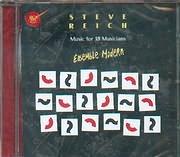 CD image STEVE REICH / MUSIC FOR 18 MUSICIANS - ENSEMBLE MODERN