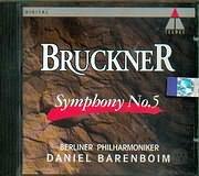 CD image BRUCKNER / SYMPHONY No.5