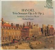 HANDEL / TRIO SONATAS OP 2 AND OP 5 - ACADEMY OF ANCIENT MUSIC - RICHARD EGARR - (2CD)