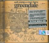CD + DVD image NEIL YOUNG AND CRAZY HORSE / GREENDALE WITH BONUS DVD
