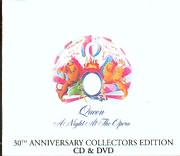 CD + DVD image QUEEN / A NIGHT AT THE OPERA - 30 ANNIVERSARY COLLECTORS EDITION - (CD + DVD)