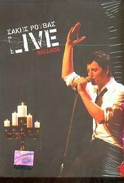 CD + DVD image SAKIS ROUVAS / LIVE BALLADS (CD + DVD)