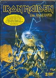 DVD image IRON MAIDEN - LIVE AFTER DEATH - (2DVD)
