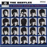 LP image BEATLES / A HARD DAY S NIGHT (REMASTERED / STEREO) (VINYL)