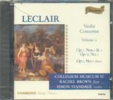 CD image LECLAIR / VIOLIN CONCERTOS VOL.2